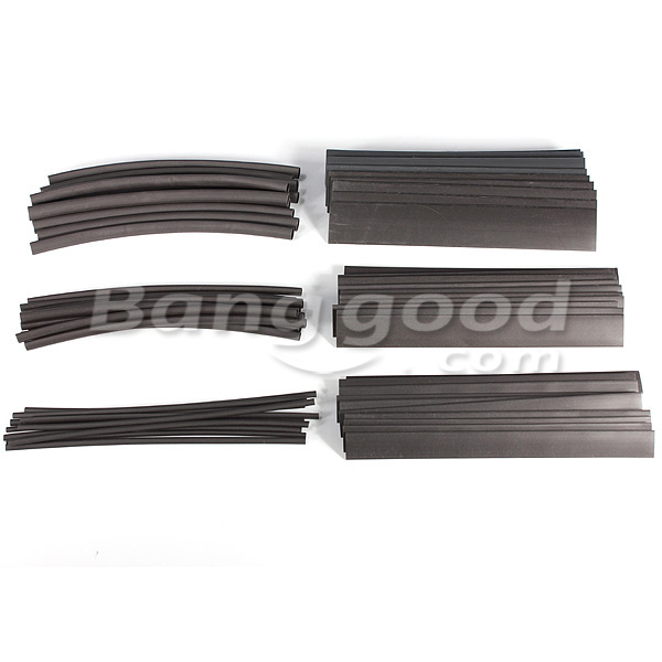 60pcs 6 Size Assortment 2:1 Heat Shrink Tube Sleeving Wrap Wire