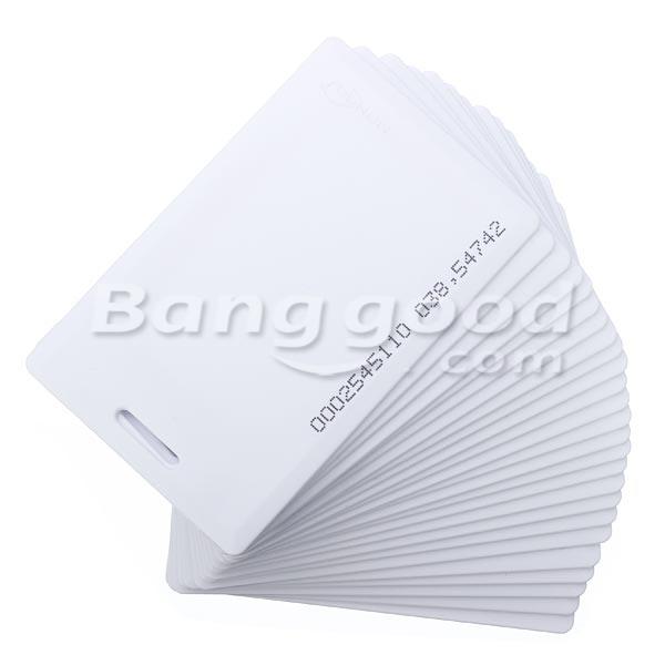 25Pcs MANGO 125Khz PVC Door Control Entry Access Card EM/ID Card