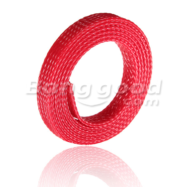 1M 8mm Braided Expandable Wire Gland Sleeving High Density Sheathing