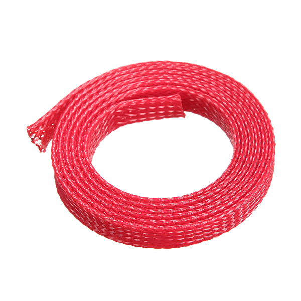 1M 8mm Braided Expandable Wire Gland Sleeving High Dens