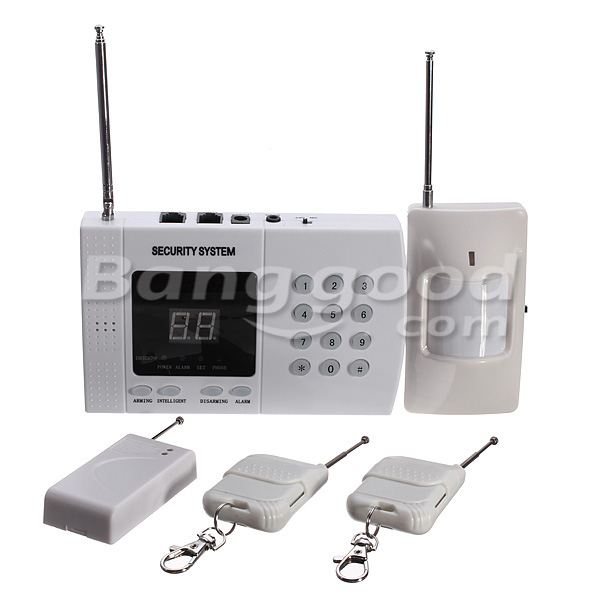 Wireless Auto Dial Phone Burglar Home Security Alarm System