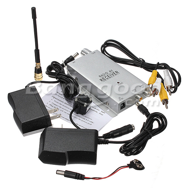 1.2G Mini Wireless Hidden Pinhole Camera Surveillance System PAL