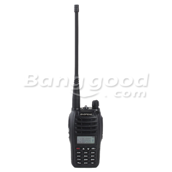 Baofeng UV-B6 Dual Band Handheld Transceiver Radio Walkie Talkie