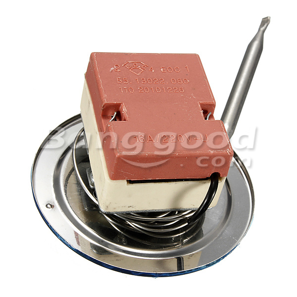 30-110 Degree Adjustable Temperature Controller Capillary Thermostat