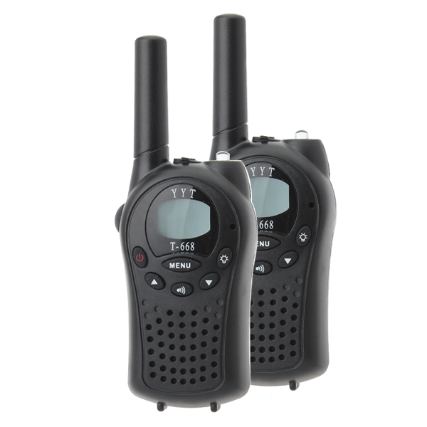 T-688 0.5W UHF Auto Channels Mini Radios Walkie Talkie