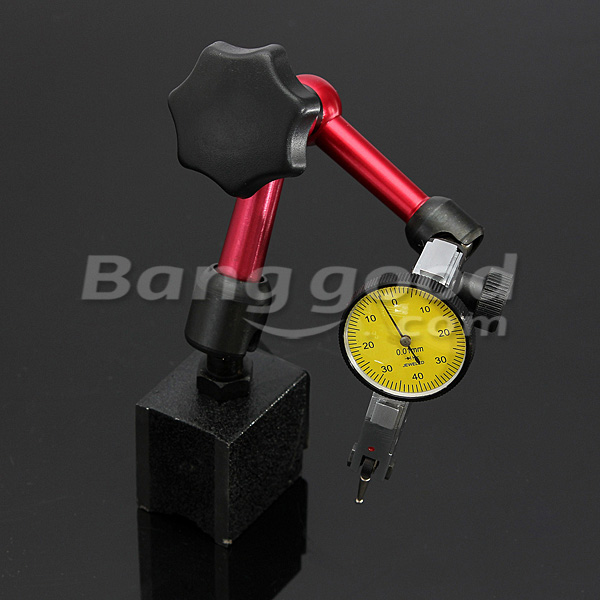 DANIU Mini Flexible Magnetic Base Holder Stand Tool for Dial Indicator Test