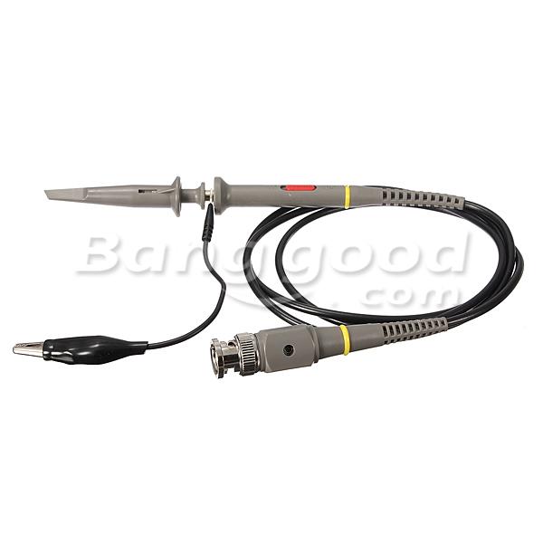 DANIU P6100 Oscilloscope 100MHz PKCATI BNC Clip Probes Clip Cable