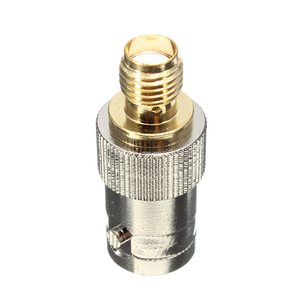 BNC female jack to SMA female jack Straight RF adapter connector