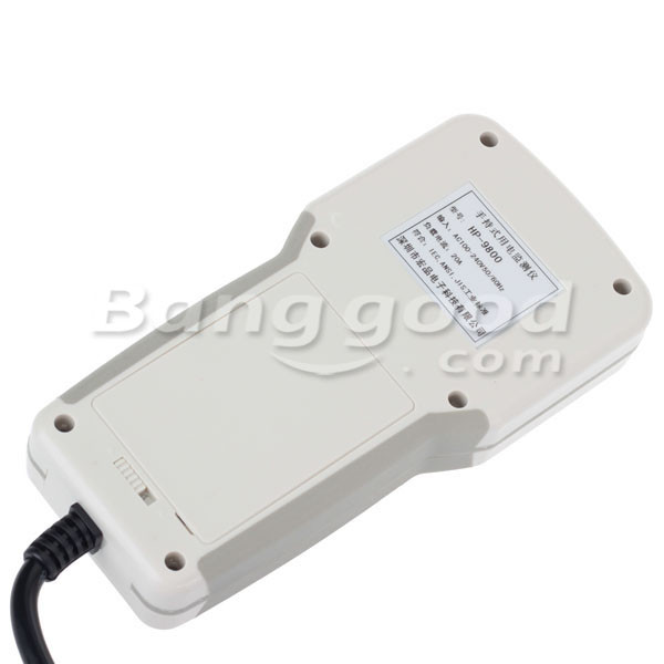HP9800 85-265V 20A Electric Hand Held Power Meter Power Socket Tester