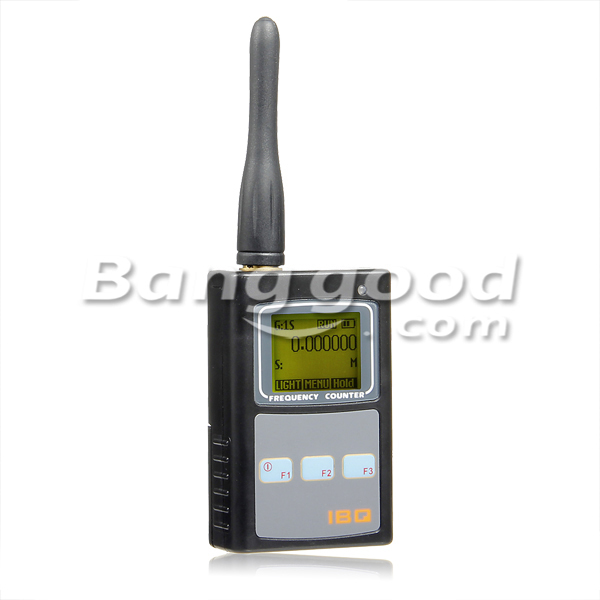 IBQ101 50MHz to 2.6GHz Portable Walkie Talkie Frequency Counter