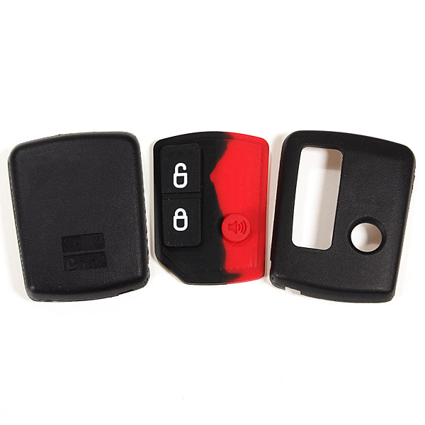 3 Buttons Black Remote Key Shell Case for Ford Territory Wagon