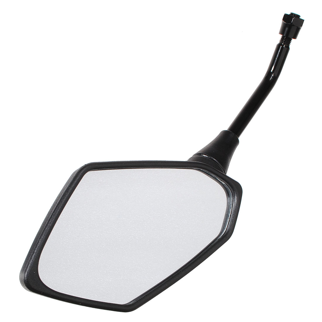 10mm Universal Diamond Motorcycle Black Rear View Mirror