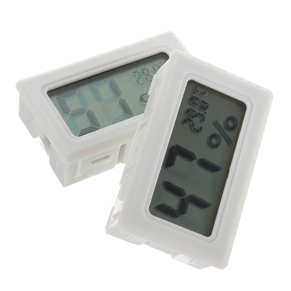 Mini Digital LCD Thermometer Humidity Meter Gauge Hygrometer Indoor