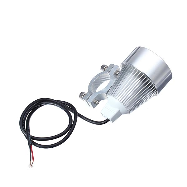 12V 15W Motorcycle Car LED Day Spot Lightt Silver