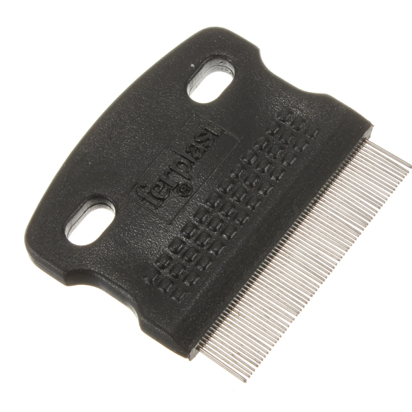 Pet Fine Toothed Flea Comb Cat Dog Grooming Steel Small Brush New