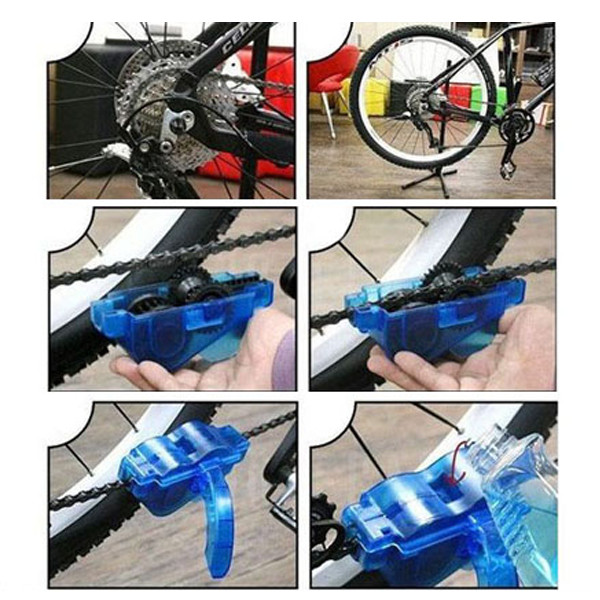 Bicycle Bike Brushes Cycling Wash Cleaner Machine Clean Tool