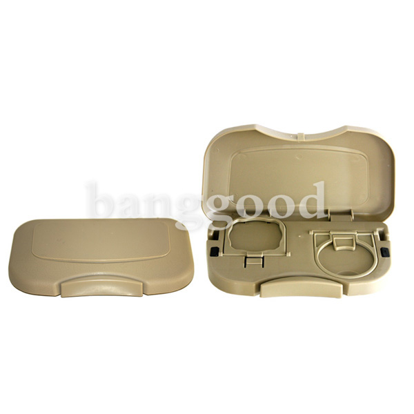 Car Seat Tray Mount Food Table Meal Desk Stand Drink Cup Holder