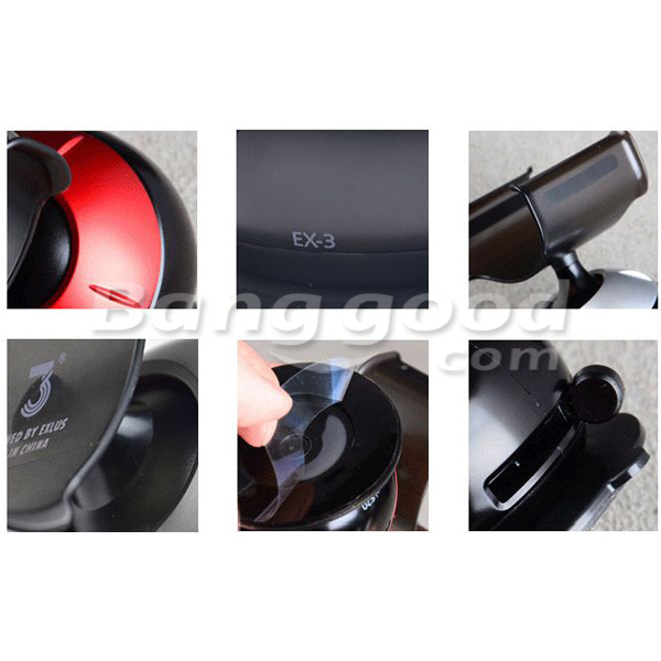Car 360 Degree Rotatable Cell Phone Holder Stand GPS for iPhone 4S