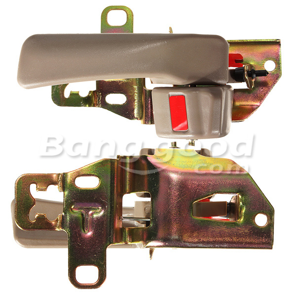 Beige Front Rear Inside Interior Door Handle for 92-96 Toyota Camry