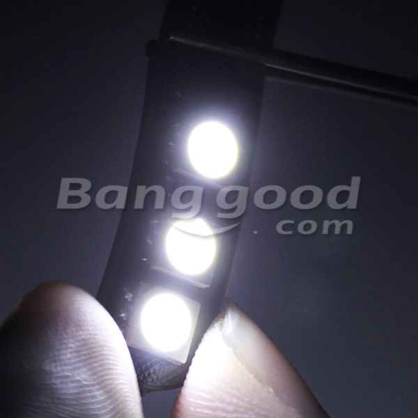 Pure White T10 5050 6SMD Led Light with Canbus Wiring System