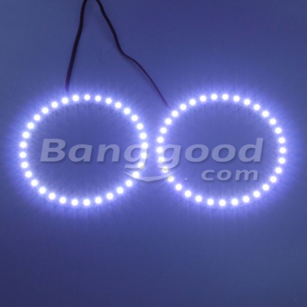 100mm Angel Eyes Lights Headlight for BMW 33 SMD LED Ring Car Auto Light