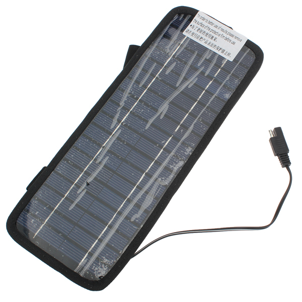 12V 3.5W Solar Power Panel Auto Car Battery Charger