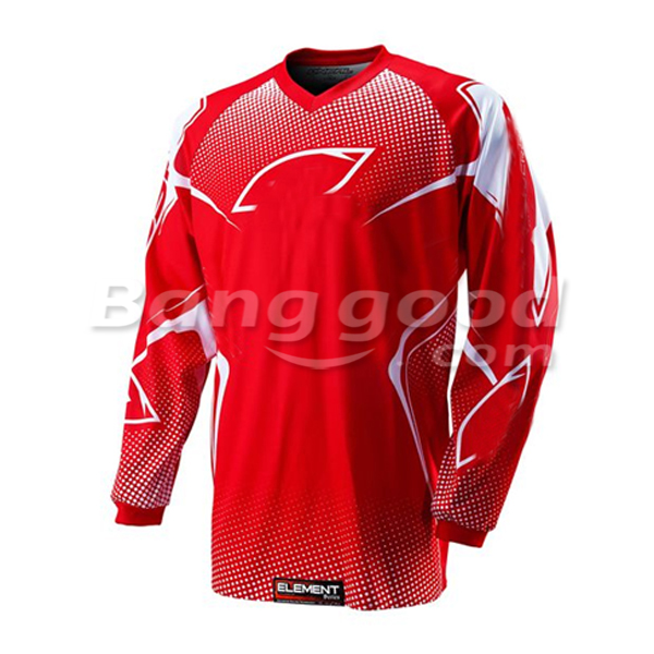 Motorcycle Racing Off Road Jacket Jersey Shirt Vest for Oreal Red