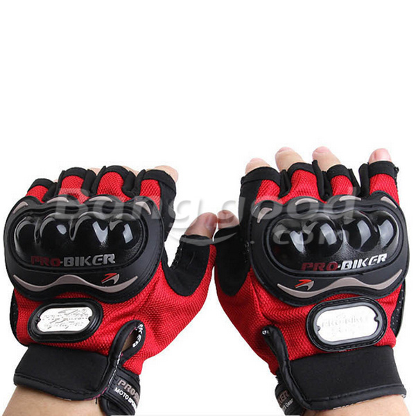 Motorcycle Racing Half Finger Gloves Bike Safety for Pro-biker MCS04