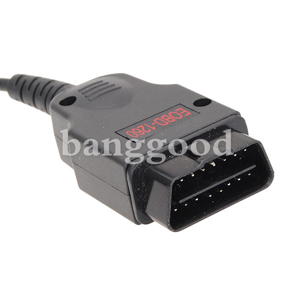 OBDII Socket OBD Connector Diagnostic Cable Adaptor for Audi