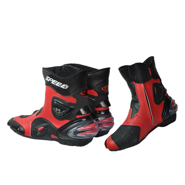 Hot Wheels Motorcycle Bicycle Racing Boots Impact Protection Boots