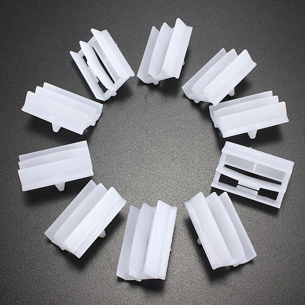 10 x Plastic Exterior Side Sill Skirt Trim Clips for BMW 3 Series