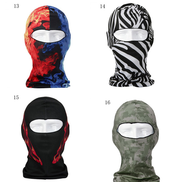 3D Motorcycle Balaclava Neck Ski Full Face Mask Cover Hat Cap Beanie Animal