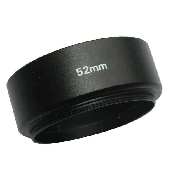 Emolux 52mm Metal Lens Hood For Canon/Nikon 50mm f1.8 B