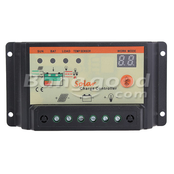Third Generation Solar Energy Controller Fully Automatic 12V/24V 20A