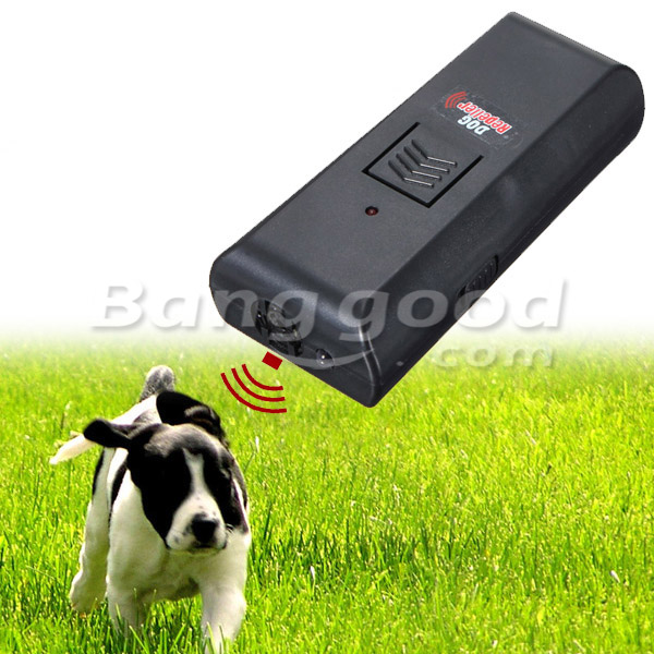 Ultrasonic Pet Dog Repeller Stop Barking Train Training Dog Trainer