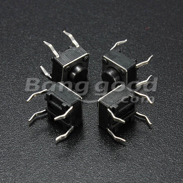 Geekcreit® 5000pcs Mini Micro Momentary Tactile Tact Switch Push Button DIP P4 Normally Open