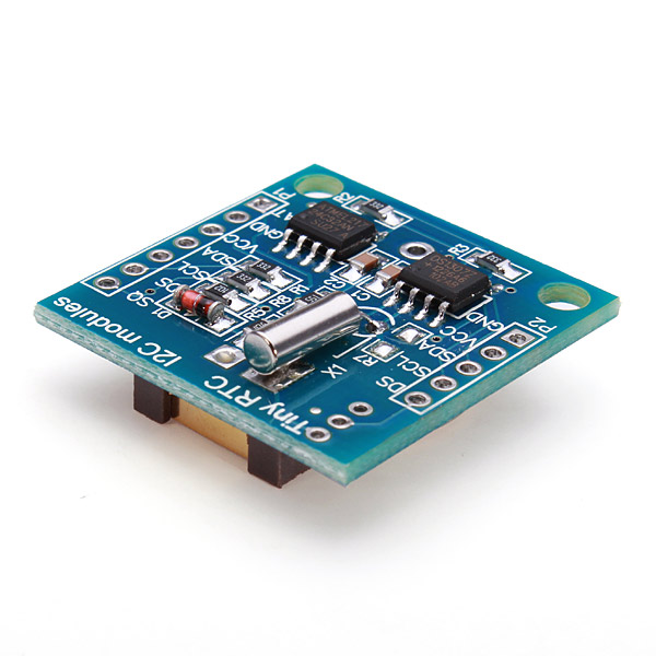 Geekcreit® Tiny RTC I2C AT24C32 DS1307 Real Time Clock Module Board With CR2032 Battery For Arduino