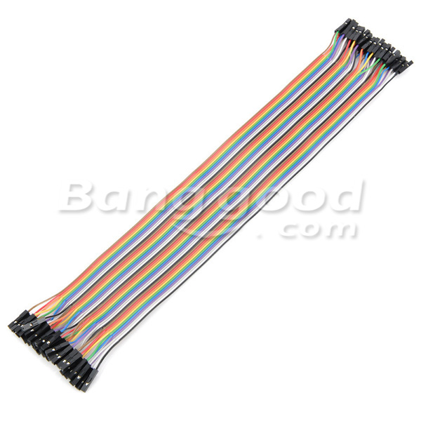 30cm 40pcs Female To Female Breadboard Wires Jumper Cable Dupont Wire