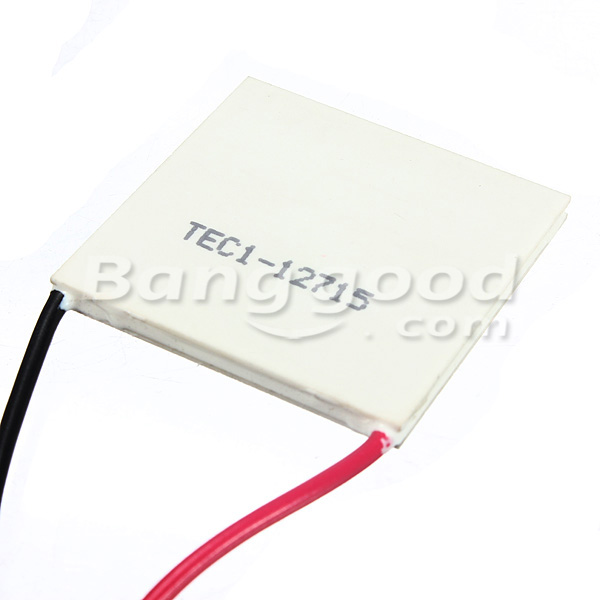 TEC1-12715 12V Heat Sink Thermoelectric Cooler Peltier Plate Module