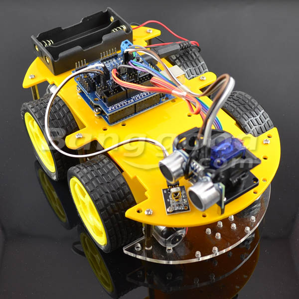 Multifunction bluetooth Controlled Robot Smart Car Kits For Arduino