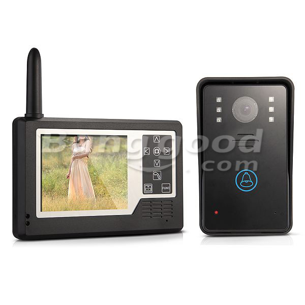 ENNIO CT3501A11 3.5inch Color Wireless Video Intercom Doorbell Phone System