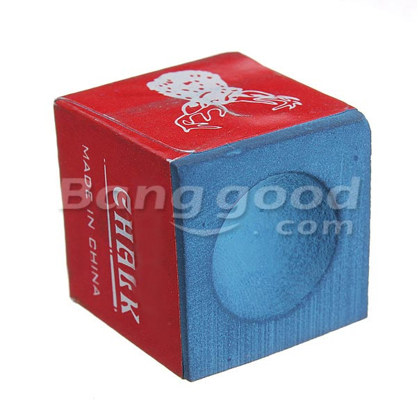 Billiard Table Chalk Pool Snooker Cue Tip Red Blue Tools