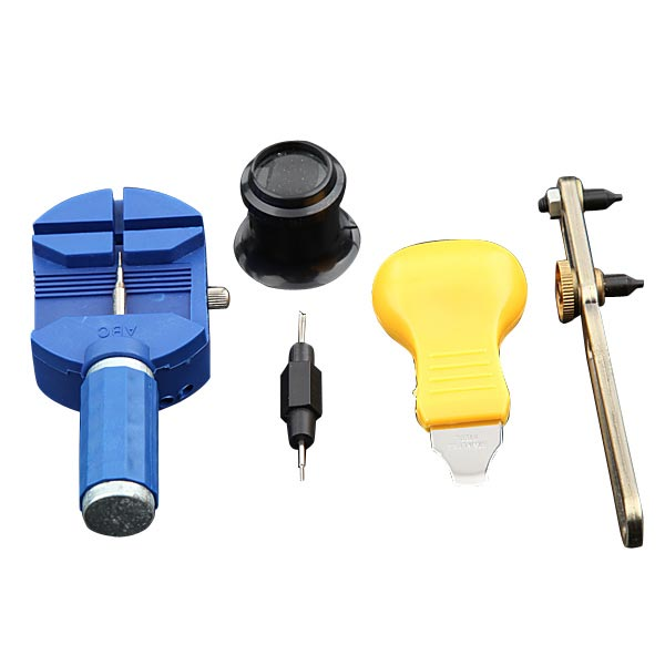 Watch Horologe Opener Remover Repair Tool Set Kit Part