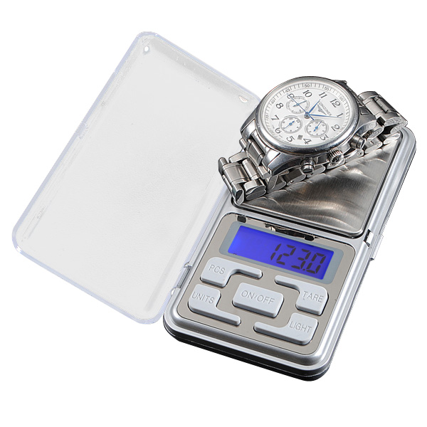 500g x 0.1g Portable Digital Electronic Jewelry Gram Weight Scale Balance
