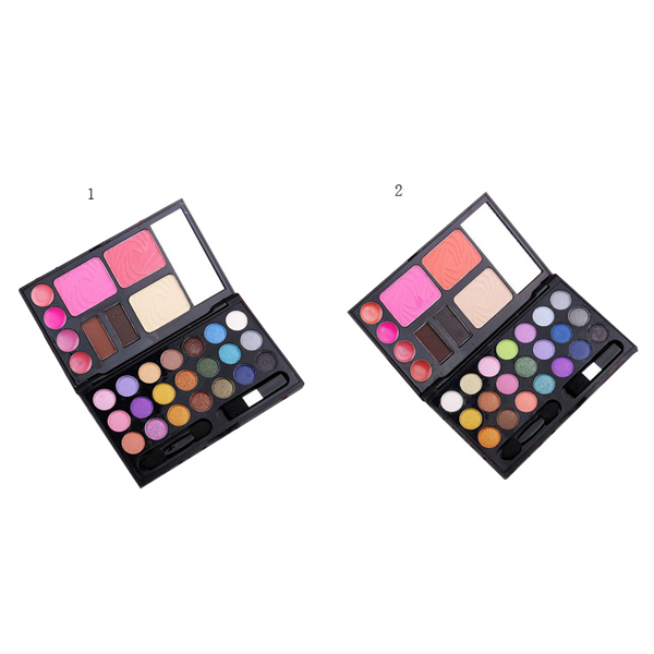 Makeup 21 Color Eyeshadow Blush Lip Gloss Palette Set