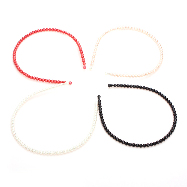 Cute Pearl Jewelry Hair Hoop Headbrand Hair Clasp Head Accessories