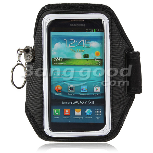 Running Exercise Strap Armband Pouch For Iphone Samsung Galaxy S3 S4