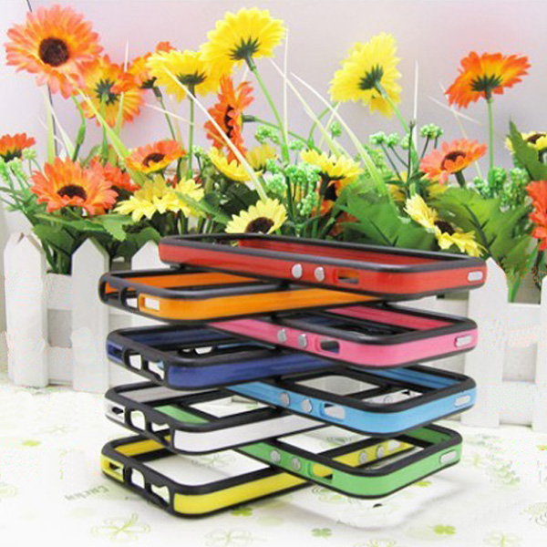 Silicone Bumper Frame Case Cover Protector for iPhone 5