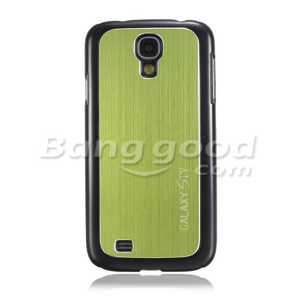 Glossy Metal Back Hard Case For Samsung Galaxy S4 SIV i9500