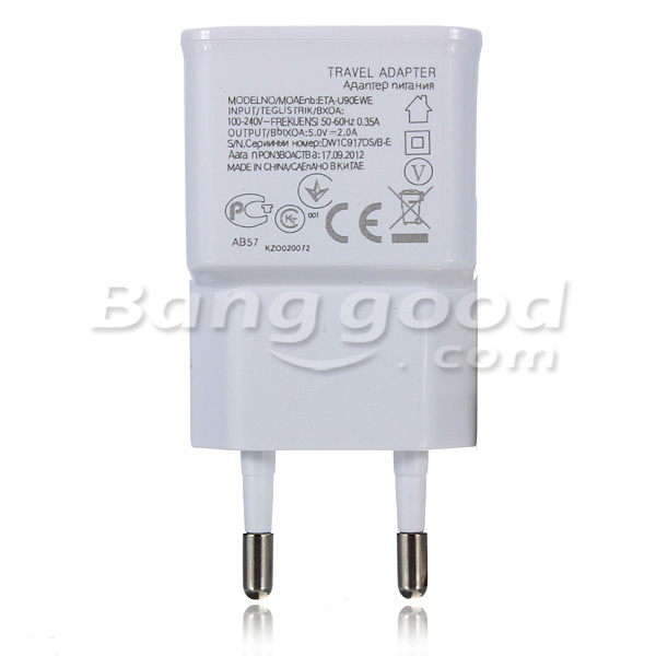 2 Dual USB Ports Wall Charger Adapter For iPhone Samsung Cell Phones